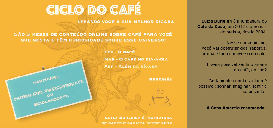 ciclo do cafe